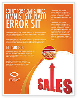 sales flyer template background in microsoft word publisher and