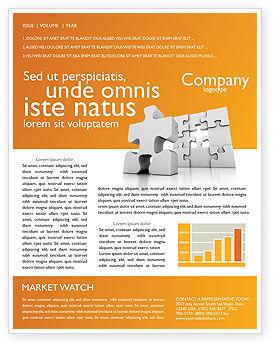 Business Concepts: 商业难题通讯模板 #03587