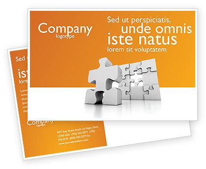 Business Concepts: Modèle de Carte postale de puzzle d'affaires #03587