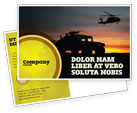 Military: War Conflict Postcard Template #03588