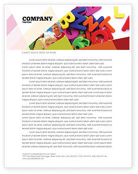 Education & Training: Word Play Letterhead Template #03592