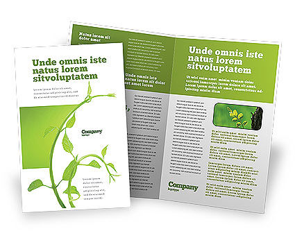 Nature & Environment: New Life Brochure Template #03598