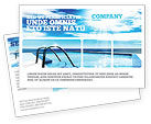 Careers/Industry: Swimming Pool Postcard Template #03599