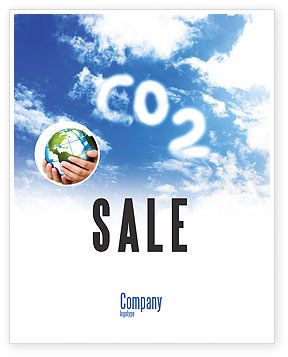 Nature & Environment: Carbonic Acid Sale Poster Template #03601