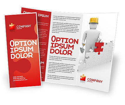 Building Up Brochure Template