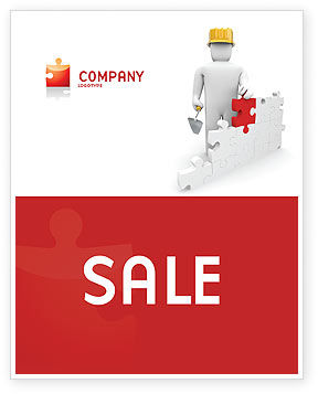 Building Up Sale Poster Template