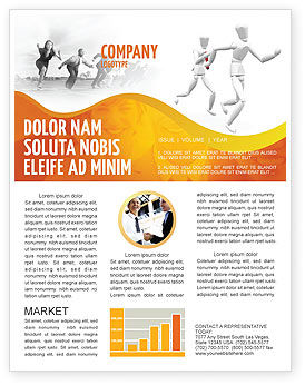 Business Concepts: Modèle de Newsletter de relais #03608