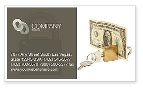 Money Savings Business Card Template, 03616, Financial/Accounting — PoweredTemplate.com