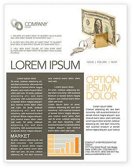 Money Savings Newsletter Template