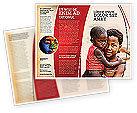People: Refugees Brochure Template #03619