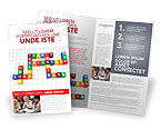 Education & Training: Job Benefits Brochure Template #03621