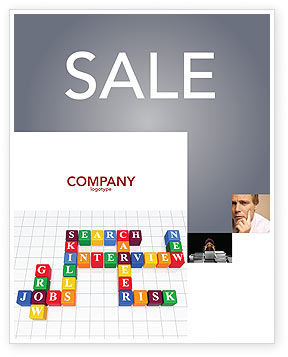 Job Benefits Sale Poster Template