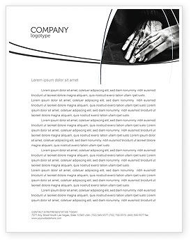 People: Age and Youth Letterhead Template #03623
