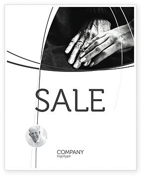 People: Age and Youth Sale Poster Template #03623