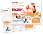 Construction: The Wall Brochure Template #03630