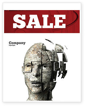 Technology, Science & Computers: Cybernetician Sale Poster Template #03634