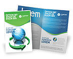 Global: Restoring World Brochure Template #03636