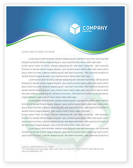 Global: Restoring World Letterhead Template #03636