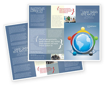 Five Continents Brochure Template