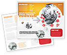 Financial/Accounting: Modello Brochure - Dollaro sicuro #03638