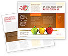 Business Concepts: Reaching the Aim Brochure Template #03639