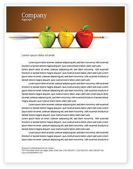 Business Concepts: Ziel erreichen Briefkopf Vorlage #03639