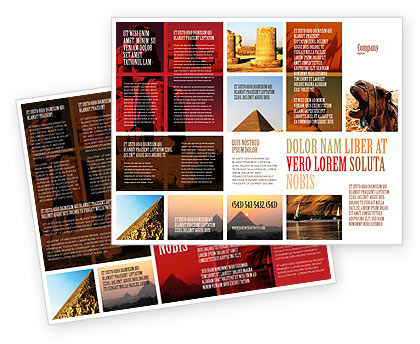 Traveling Brochure Template Design And Layout, Download Now, 03640