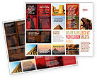 Careers/Industry: Traveling Brochure Template #03640