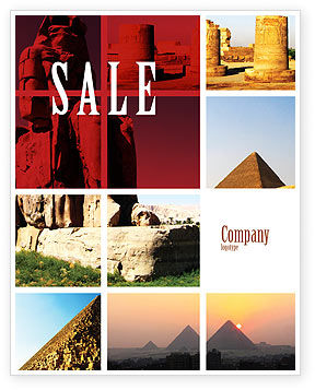Traveling Sale Poster Template, 03640, Careers/Industry — PoweredTemplate.com