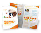 Education & Training: Plantilla de folleto - juegos infantiles #03642