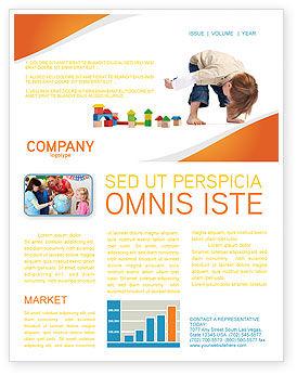 Education & Training: Modelo de Newsletter - jogos infantis #03642
