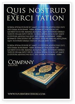 Koran Ad Template, 03651, Religious/Spiritual — PoweredTemplate.com