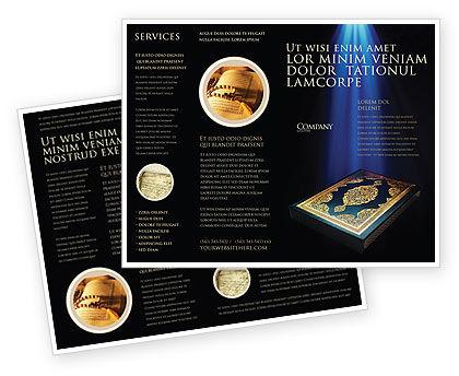 Religious/Spiritual: Modelo de Brochura - alcorão #03651
