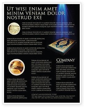 Koran Flyer Template, 03651, Religious/Spiritual — PoweredTemplate.com