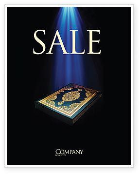 Koran Sale Poster Template, 03651, Religious/Spiritual — PoweredTemplate.com