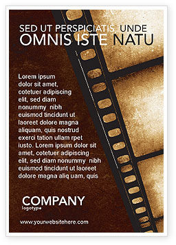 Careers/Industry: Movie Strip Ad Template #03652