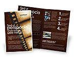 Careers/Industry: Movie Strip Brochure Template #03652