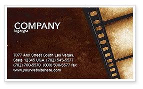 Careers/Industry: Movie Strip Visitekaartje Template #03652