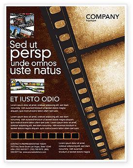 Movie Strip Flyer Template