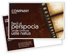 Careers/Industry: Movie Strip Postcard Template #03652