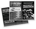 Sports: American Football Dallas Cowboys Brochure Template #03653