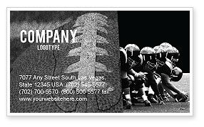 American Football Dallas Cowboys Business Card Template, 03653, Sports — PoweredTemplate.com