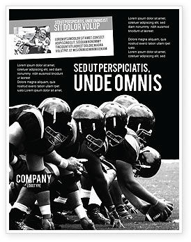 American Football Dallas Cowboys Flyer Template, 03653, Sports — PoweredTemplate.com