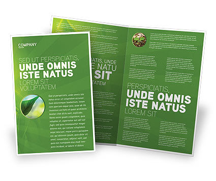 Plant Breeding Brochure Template