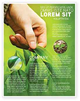 Plant Breeding Flyer Template, 03655, Agriculture and Animals — PoweredTemplate.com