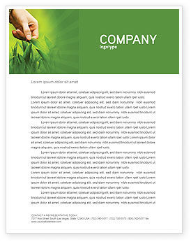 Agriculture and Animals: Plant Breeding Letterhead Template #03655