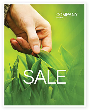 Agriculture and Animals: Plant Breeding Sale Poster Template #03655