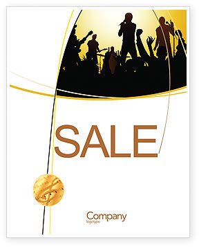 Ensemble Sale Poster Template, 03657, Careers/Industry — PoweredTemplate.com