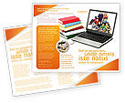 Education & Training: Computer Study Brochure Template #03659