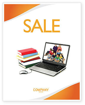 Education & Training: Computer Study Sale Poster Template #03659